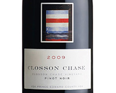 CLOSSON CHASE CLOSSON CHASE VINEYARD PINOT NOIR 2014
