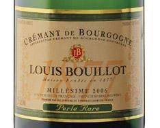 LOUIS BOUILLOT PERLE RARE BRUT CR�MANT DE BOURGOGNE 2014