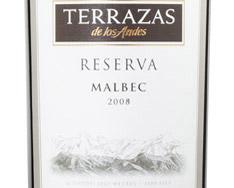 TERRAZAS DE LOS ANDES RESERVA MALBEC 2014