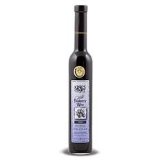 KING'S COURT WILD BLUEBERRY SWEET FRUIT WINE 2015