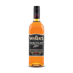 J.P. WISER'S DOUBLE STILL RYE CANADIAN WHISKY