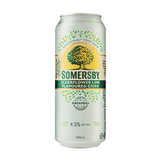 SOMERSBY ELDERFLOWER LIME CIDER
