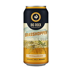 BIG ROCK GRASSHOPPER ALE