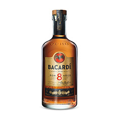BACARDI 8 YEARS OLD RUM