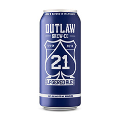 OUTLAW LAGERED ALE