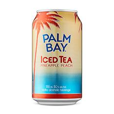 PALM BAY ICED TEA PINEAPPLE PEACH
