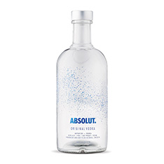 ABSOLUT HOLIDAY LIMITED EDITION BOTTLE**