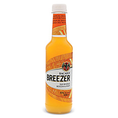 BACARDI BREEZER TROPICAL ORANGE SMOOTHIE